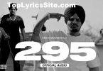 295 Lyrics