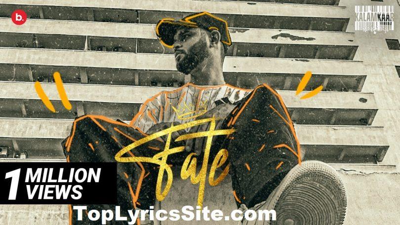 Fate Lyrics