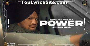 Power Lyrics