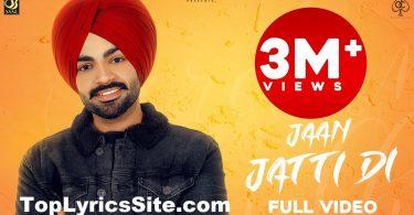 Jaan Jatti Di Lyrics