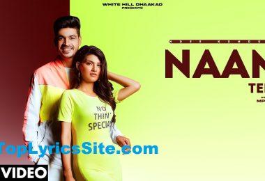 Naam Tera Lyrics