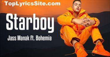 Starboy Lyrics
