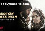 Akhiyan Udeek Diyan Lyrics