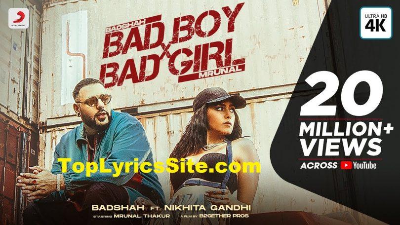 Bad Boy x Bad Girl Lyrics