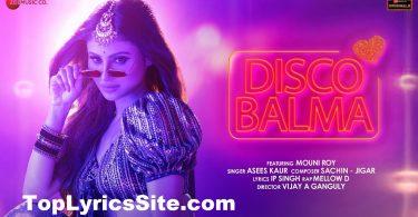 Disco Balma Lyrics