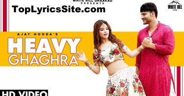 Heavy Ghagra Lyrics