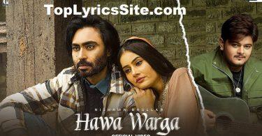 Hawa Warga Lyrics
