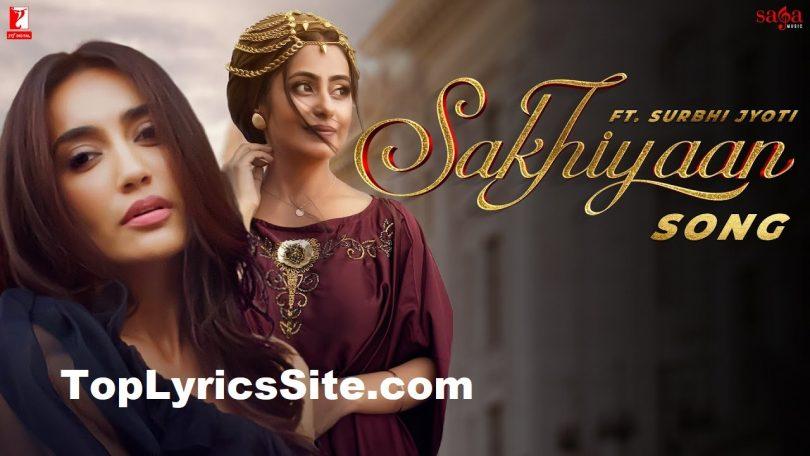 Sakhiyaan Lyrics